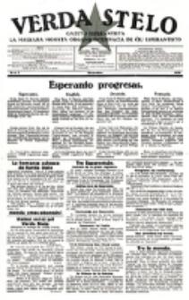 Verda Stelo : gazeto esperantista la malkara monata organo internacia de ĉiu esperantisto. N-ro 2 (Novembro 1926)