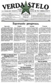 Verda Stelo : gazeto esperantista la malkara monata organo internacia de ĉiu esperantisto. N-ro 1 (Januaro 1927)