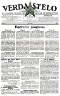 Verda Stelo : gazeto esperantista la malkara monata organo internacia de ĉiu esperantisto. N-ro 2 (Februaro 1927)