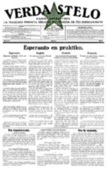 Verda Stelo : gazeto esperantista la malkara monata organo internacia de ĉiu esperantisto. N-ro 3 (Marto 1927)