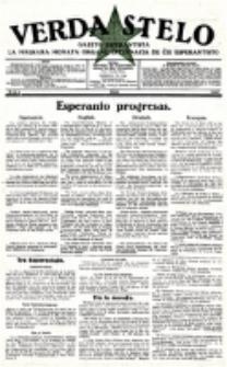 Verda Stelo : gazeto esperantista la malkara monata organo internacia de ĉiu esperantisto. N-ro 5 (Majo 1927)