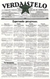 Verda Stelo : gazeto esperantista la malkara monata organo internacia de ĉiu esperantisto. N-ro 6 (Juno 1927)