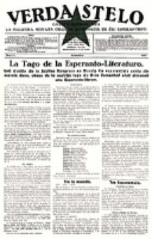Verda Stelo : gazeto esperantista la malkara monata organo internacia de ĉiu esperantisto. N-ro 11 (Novembro 1927)