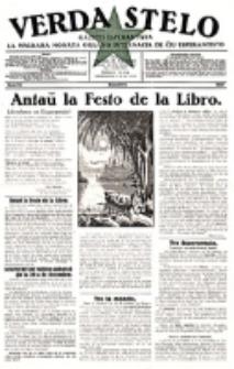 Verda Stelo : gazeto esperantista la malkara monata organo internacia de ĉiu esperantisto. N-ro 12 (Decembro 1927)
