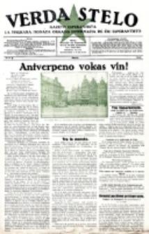 Verda Stelo : gazeto esperantista la malkara monata organo internacia de ĉiu esperantisto. N-ro 3 (Marto 1928)