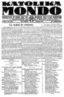 Katolika Mondo : sendependa oficiala organo por tutmondaj interesoj katolikaj : gazeto de Internacio Katolika. Jarkolekto 2, numero 8
