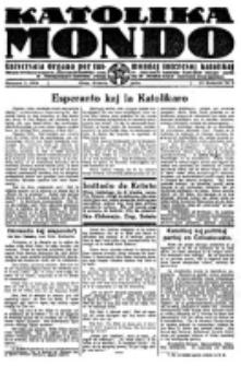 Katolika Mondo : sendependa oficiala organo por tutmondaj interesoj katolikaj : gazeto de Internacio Katolika. Jarkolekto 4, numero 5