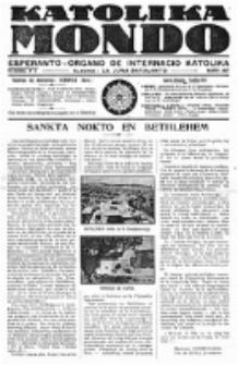 Katolika Mondo : sendependa oficiala organo por tutmondaj interesoj katolikaj : gazeto de Internacio Katolika. Jarkolekto 8, numero 3.
