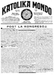 Katolika Mondo : sendependa oficiala organo por tutmondaj interesoj katolikaj : gazeto de Internacio Katolika. Jarkolekto 9, numero 12