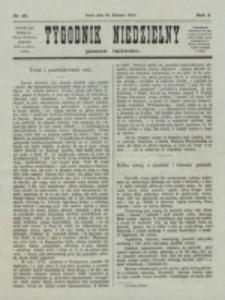 Tygodnik Niedzielny. Nr 18 (30 Kwietnia 1876)