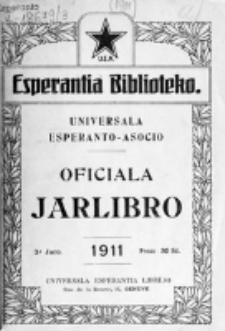 Oficiala Jarlibro. 1911