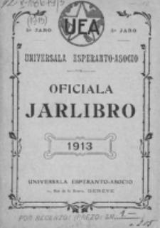Oficiala Jarlibro. 1913
