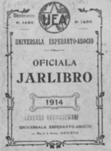 Oficiala Jarlibro. 1914