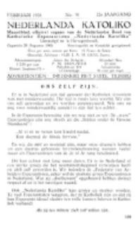 Nederlanda Katoliko. Jg. 22, no. 10 (1938)