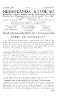 Nederlanda Katoliko. Jg. 22, no. 11 (1938)