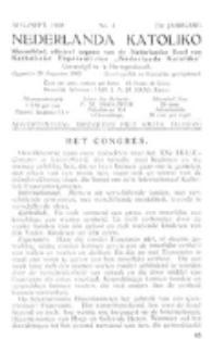 Nederlanda Katoliko. Jg. 23, no. 4 (1938)