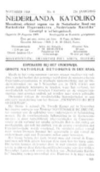 Nederlanda Katoliko. Jg. 23, no. 6 (1938)