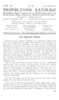 Nederlanda Katoliko. Jg. 23, no. 11 (1939)