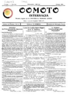 Oomoto Internacia : monata organo de la Universala Homama Asocio. Jaro 1, n-ro 2 (1926)