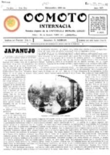 Oomoto Internacia : monata organo de la Universala Homama Asocio. Jaro 2, r-ro 18 (1927)