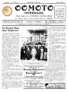 Oomoto Internacia : monata organo de la Universala Homama Asocio. Jaro 5, n-ro 38 (1930)