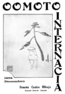 Oomoto Internacia : monata organo de la Universala Homama Asocio. Jaro 10, n-ro 12=112 (1934)