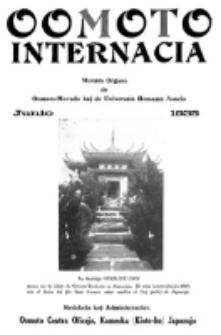 Oomoto Internacia : monata organo de la Universala Homama Asocio. Jaro 11, n-ro 6=118 (1935)