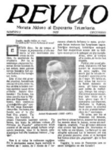 Revuo : monata aldono al Esperanto Triumfonta. 1922, no 2