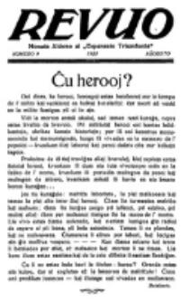 Revuo : monata aldono al Esperanto Triumfonta. 1923, no 9