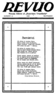Revuo : monata aldono al Esperanto Triumfonta. 1923, no 12