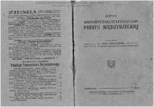 Opis historyczno-statystyczny parafii Międzyrzeckiej / oprac. Adolf Pleszczyński.