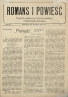 Romans i Powieść. R. 6, nr 1 (3 stycznia 1914)
