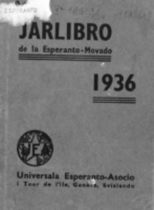 Oficiala Jarlibro. 1936