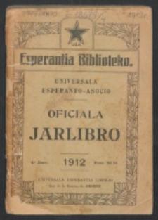 Oficiala Jarlibro. 1912
