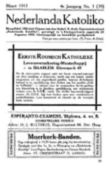 Nederlanda Katoliko. Jg. 4, no. 3 (Maart) 1913)
