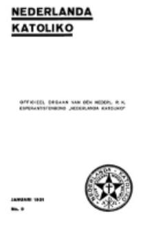 Nederlanda Katoliko. Jg. 15, no. 9 (Januari 1931)