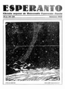 Esperanto : revuo internacia : oficiala organo de Universala Esperanto Asocio. Jaro 23, no 1=317 (Januaro 1927)