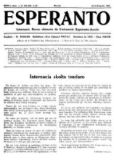 Esperanto : revuo internacia : oficiala organo de Universala Esperanto Asocio. Jaro 27, no 7/8=371/372 (Julio/Aŭgusto 1931)