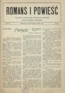 Romans i Powieść. R. 6, nr 3 (17 stycznia 1914)