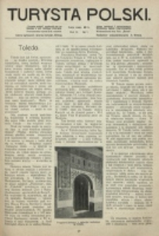 Turysta Polski. R. 3, nr 1 [1914]