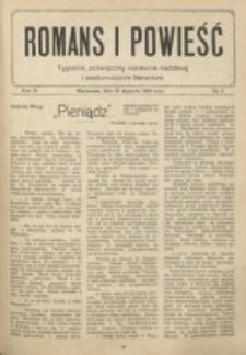 Romans i Powieść. R. 6, nr 5 (31 stycznia 1914)