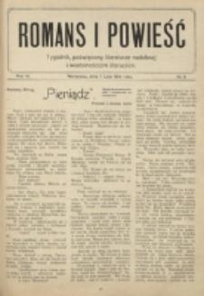 Romans i Powieść. R. 6, nr 6 (7 lutego 1914)