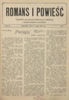 Romans i Powieść. R. 6, nr 7 (14 lutego 1914)