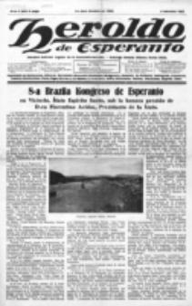 Heroldo de Esperanto : neŭtrale organo la Esperanto-modavo. Jaro 8 (1927), nr 5=397 (4 februaro 1927)
