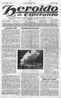 Heroldo de Esperanto : neŭtrale organo la Esperanto-modavo. Jaro 8 (1927), nr 7=399 (18 februaro)