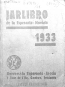 Oficiala Jarlibro. 1933