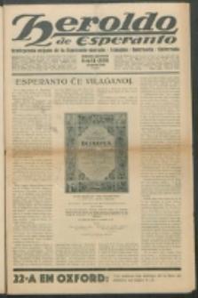 Heroldo de Esperanto : neŭtrale organo la Esperanto-modavo. Jarkolekto 11 (1930), nr 11=559 (14 marto)