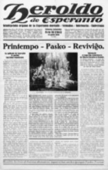 Heroldo de Esperanto : neŭtrale organo la Esperanto-modavo. Jarkolekto 11 (1930), nr 16=564 (18 aprilo)