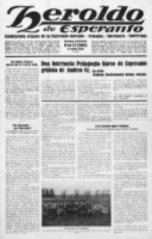 Heroldo de Esperanto : neŭtrale organo la Esperanto-modavo. Jarkolekto 11 (1930), nr 17=565 (25 aprilo)