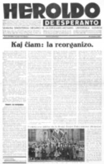 Heroldo de Esperanto : neŭtrale organo la Esperanto-modavo. Jarkolekto 13 (1932), nr 43=696 (30 oktobro)